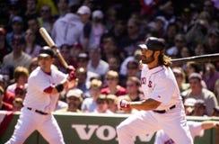 Johnny Damon, Boston Red Sox Stock Images