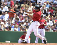 Johnny Damon, Boston Rode Sox Stock Afbeeldingen
