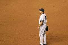 Johnny Damon, de Yankees van New York royalty-vrije stock afbeelding