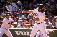 Johnny Damon, les Red Sox de Boston Image stock