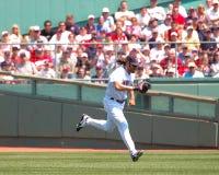 Johnny Damon, les Red Sox de Boston Images libres de droits