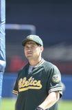 Johnny Damon. Oakland Athletics outfielder Johnny Damon. (Image taken from color slide Stock Photography
