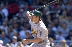 Johnny Damon. Oakland Athletics outfielder Johnny Damon. (Image taken from color slide Stock Photos