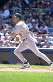 Johnny Damon. Oakland Athletics star Johnny Damon. (Image taken from color slide Stock Images