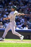 Johnny Damon Oakland A's stock fotografie