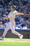 Johnny Damon. Outfielder for the Oakland Athletics. (Image taken from a color slide Stock Photography