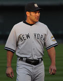 Johnny Damon, Yankees de New York Image stock