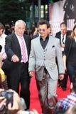 Johnny Depp - απομονωμένο δασοφύλακας - πρεμιέρα της Γερμανίας Στοκ Εικόνα