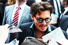 Johnny Depp Fotos de archivo libres de regalías