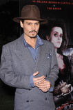 Johnny Depp. At industry screening of his movie Sweeney Todd the Demon Barber of Fleet Street at Paramount Studios, Hollywood. December 5, 2007  Los Angeles, CA Royalty Free Stock Photos