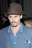 Johnny Depp. At a special screening of Sweeney Todd The Demon Barber of Fleet Street. Paramount Theatre, Hollywood, CA. 12-05-07 Stock Photo