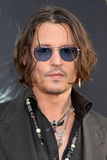 Johnny Depp immagine stock