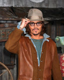 Johnny Depp royaltyfria foton