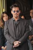 Johnny Depp Fotografía de archivo libre de regalías