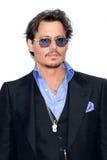 Johnny Depp Fotografie Stock Libere da Diritti