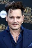Johnny Depp Foto de archivo libre de regalías