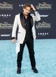 Johnny Depp image libre de droits