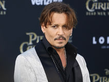 Johnny Depp fotografie stock
