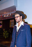 Johnny Depp, the actor, Madame Tussauds wax museum in London. Royalty Free Stock Photos