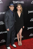 Johnny Depp & Amber Heard Royaltyfria Bilder