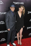 Johnny Depp & Amber Heard Arkivbild