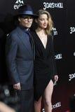 Johnny Depp & Amber Heard Royalty Free Stock Photos