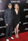Johnny Depp & Amber Heard Stock Photo