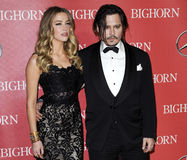 Free Johnny Depp And Amber Heard Royalty Free Stock Image - 64515066