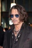Johnny Depp, die Schwärzung lizenzfreies stockfoto