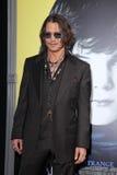Johnny Depp, die Schwärzung Stockfotos