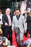 Johnny Depp - Eenzame Boswachter - de Première van Duitsland stock afbeelding