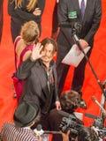 Johnny Depp en la alfombra roja Fotos de archivo libres de regalías