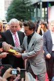 Johnny Depp - ensam kommandosoldat - Tysklandpremiär Royaltyfri Foto
