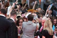 Johnny Depp - guarda florestal solitária - premier de Alemanha imagem de stock royalty free