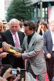 Johnny Depp - guarda florestal solitária - premier de Alemanha Foto de Stock Royalty Free