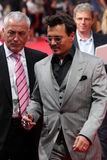 Johnny Depp - Lone Ranger - Premiere Germany Stock Photos