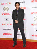 Johnny Depp. LOS ANGELES, CA - JANUARY 21, 2015: Johnny Depp at the Los Angeles premiere of his movie Mortdecai at the TCL Chinese Theatre, Hollywood Royalty Free Stock Image