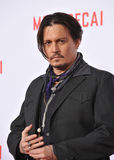 Johnny Depp Royalty Free Stock Photography