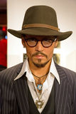 Johnny Depp in Madame Tussauds of London Royalty Free Stock Photo