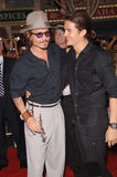 Johnny Depp,Orlando Bloom Stock Image