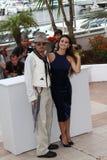 Johnny Depp and Penelope Cruz Stock Photos