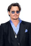 Johnny Depp. Premiere of Pirates of the Caribbean: On stranger Tides in Moscow 12.05.2011 Royalty Free Stock Photos