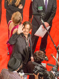 Johnny Depp sur le tapis rouge Photos libres de droits