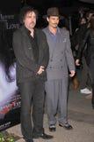 Johnny Depp, Tim Burton Stock Photos