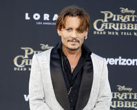Johnny Depp Stock Photo