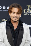 Johnny Depp. At the U.S. premiere of `Pirates Of The Caribbean: Dead Men Tell No Tales` held at the Dolby Theatre in Hollywood, USA on May 18, 2017 Stock Photos