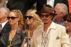 Johnny Depp, Vanessa Paradis Stock Image