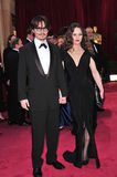 Johnny Depp, Vanessa Paradis Royalty Free Stock Image