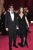 Johnny Depp, Vanessa Paradis royalty free stock image