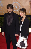 Johnny Depp,Vanessa Paradis Royalty Free Stock Photography